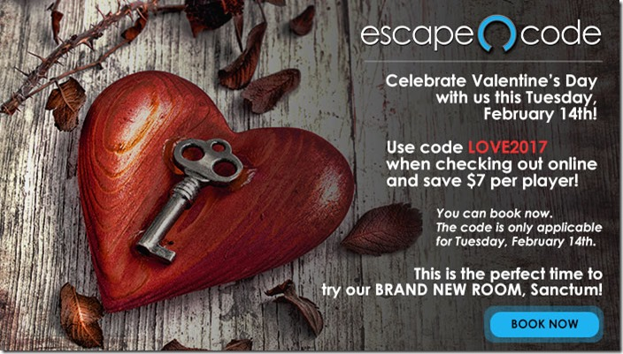 Escape The Room Valentines Day